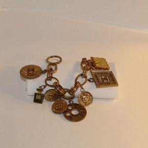 Chanel vintage large charm bracelet